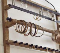 Pine & Iron Wall-Mounted Jewelry Hanger   Pottery Barn