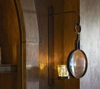 Magnifying Candle Sconce
