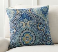 Beale Paisley Reversible Pillow Cover | Pottery Barn