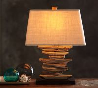 Driftwood Table Lamp Base | Pottery Barn