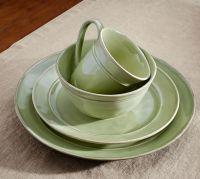 Cambria 16-Piece Dinnerware Set - Mint | Pottery Barn