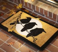 Crow & Moon Doormat | Pottery Barn