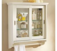 Sliding Door Wall Cabinet | Pottery Barn