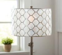 Capiz Lamp Shade | Pottery Barn