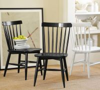 Tilden Spindle Back Side Chair | Pottery Barn