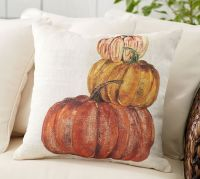 Market Pumpkin Indoor/Outdoor Pillow | Pottery Barn
