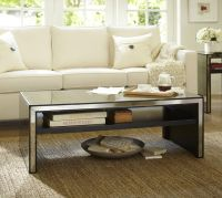 Marnie Mirrored Coffee Table | Pottery Barn