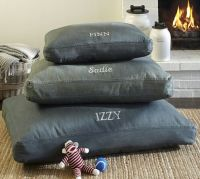 Denim Dog Bed Cover | Pottery Barn