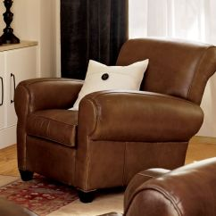 Leather Dining Chairs Pottery Barn Chair Covers Adelaide Sa Manhattan Recliner |