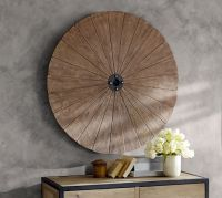 Wood Disc Wall Art | Pottery Barn