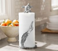 Turtle Paper Towel Holder | Pottery Barn