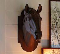 Horse Head Sculpture | Pottery Barn