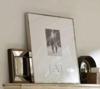 Monogrammable Oversized Mat Frame | Pottery Barn