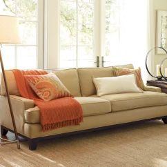 Down Wrapped Cushion Sofas Angelo Home Sofa Seabury Upholstered | Pottery Barn
