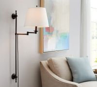 Elise Adjustable Sconce | Pottery Barn