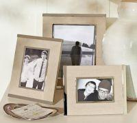 Silver & Linen Frames | Pottery Barn