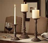 Cast Bronze Candleholder | Pottery Barn
