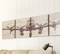 Planked Airplane Panels Set | Pottery Barn