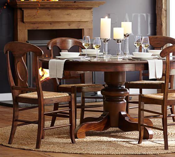 Tivoli Extending Pedestal Dining Table