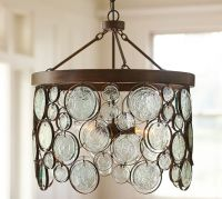 Emery Indoor/Outdoor Recycled Glass Chandelier | Pottery Barn