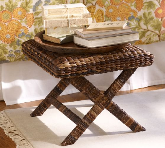 Seagrass Stool  Pottery Barn
