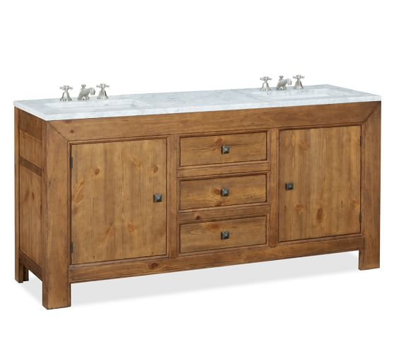 Stella Double Sink Console