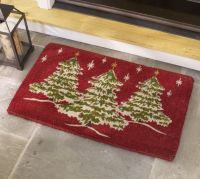 Christmas Tree Doormat | Pottery Barn