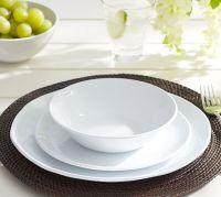 Sonora Blanca Melamine Dinnerware | Pottery Barn