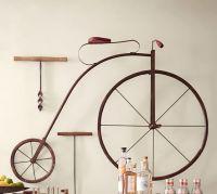 High Wheel Bicycle Wall Art
