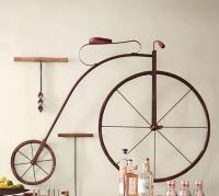 High Wheel Bicycle Wall Art | Pottery Barn