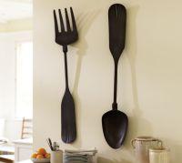 Fork & Spoon Wall Art | Pottery Barn