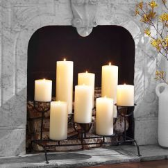 Pier One Accent Chairs Replacement Chair Casters For Hardwood Floors Fireplace Candleholder | Pottery Barn