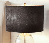 Rhea Cow Hide Lamp Shade | Pottery Barn