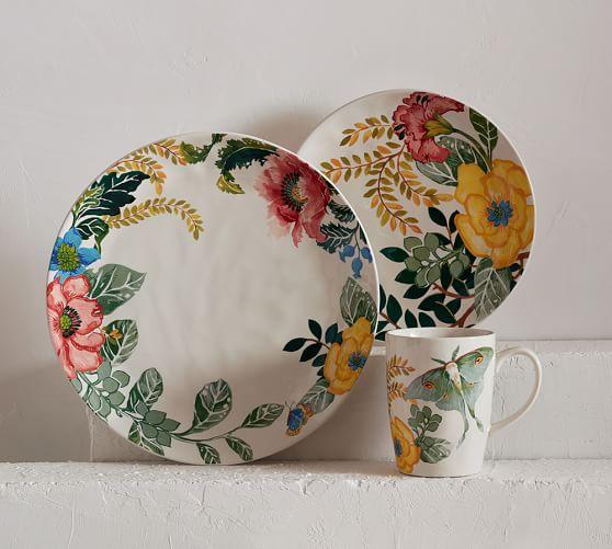 Lyla Garden Butterfly Dinnerware