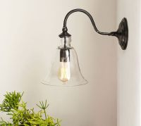 Rustic Glass Indoor/Outdoor Sconce
