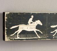 Horse Zoetrope Wall Art | Pottery Barn