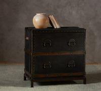 Ludlow Trunk File Cabinet | Pottery Barn