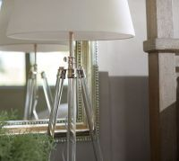 Acrylic Tripod Table Lamp | Pottery Barn