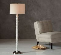 Stacked Stone Floor Lamp Base