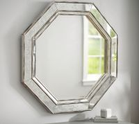 Octagon Wall Mirror | Pottery Barn