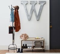 Cast Metal Standing Coat Rack | Pottery Barn