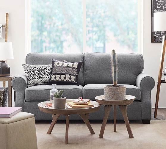 turner leather sofa pottery barn reviews next sofas ex display soma fremont roll arm upholstered |