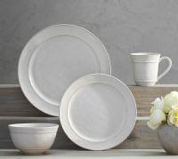 Cambria 16-Piece Dinnerware Set - Stone | Pottery Barn