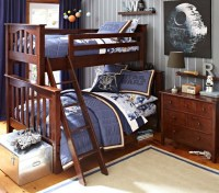 Kendall Twin-over-Full Bunk Bed | Pottery Barn Kids