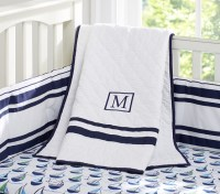 Preppy Boats Nursery Bedding Set