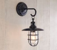 Navy Fisherman Sconce