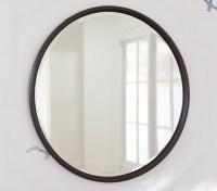 Monique Lhuillier Oil Rubbed Bronze Mirror | Pottery Barn Kids