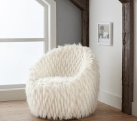 Faux Fur Lounge Chair