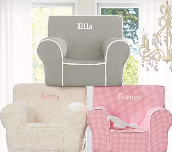 Girls Anywhere Chair Collection  Pottery Barn Kids
