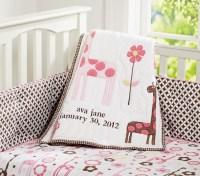 Ava Mod Giraffe Baby Bedding Set | Pottery Barn Kids